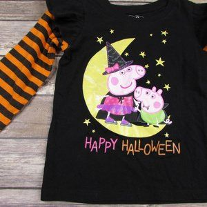 Peppa Pig Happy Halloween Shirt 4T